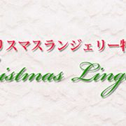 クリスマスランジェリー特集